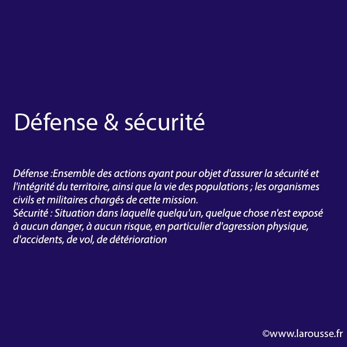 Défense & sécurité