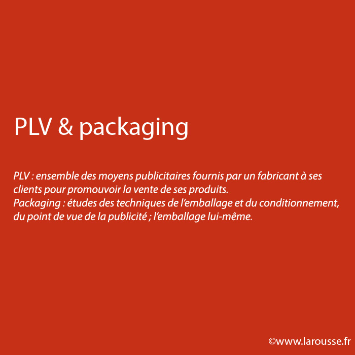 PLV & packaging
